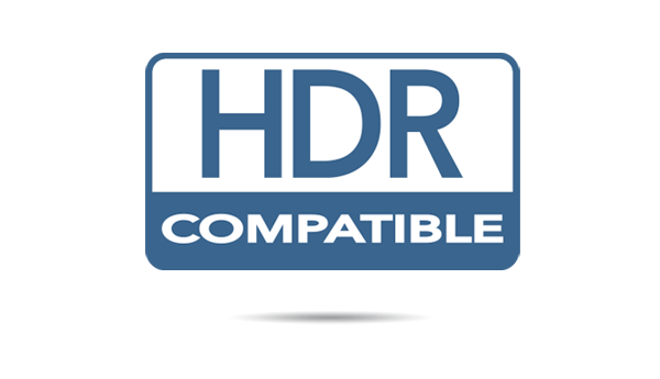 HDR and HLG compatible