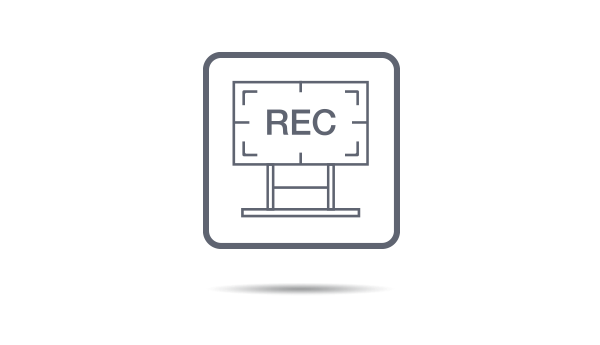 Full channel screen recording